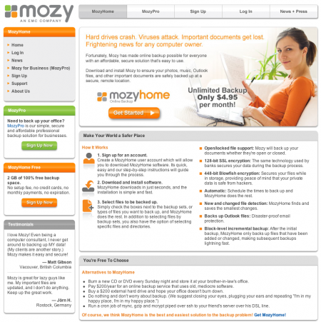 Mozy - Backup Your Computer