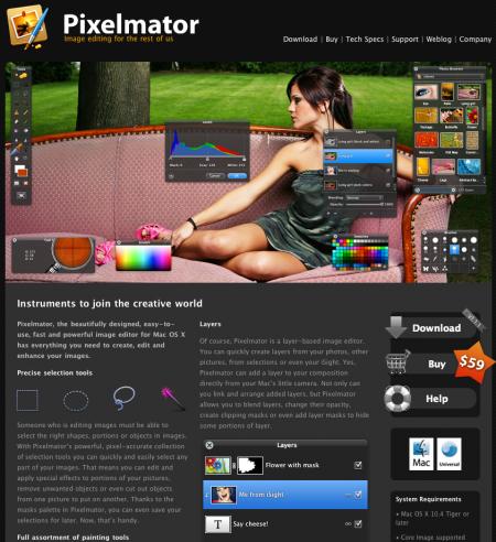 Pixelmator: Photoshop Lite