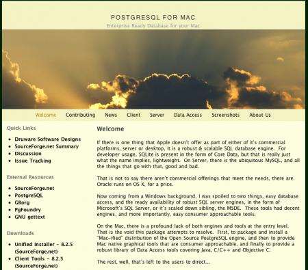 Postgres for Mac