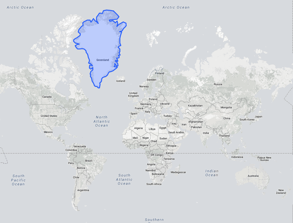 The True Size Of A Country